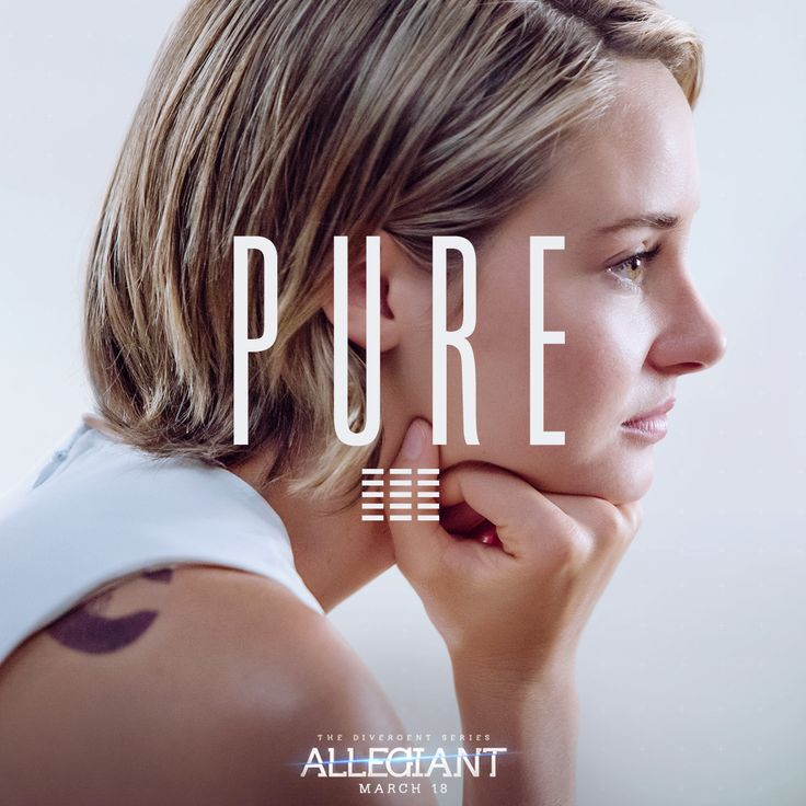 Tris is the only one. #Allegiant