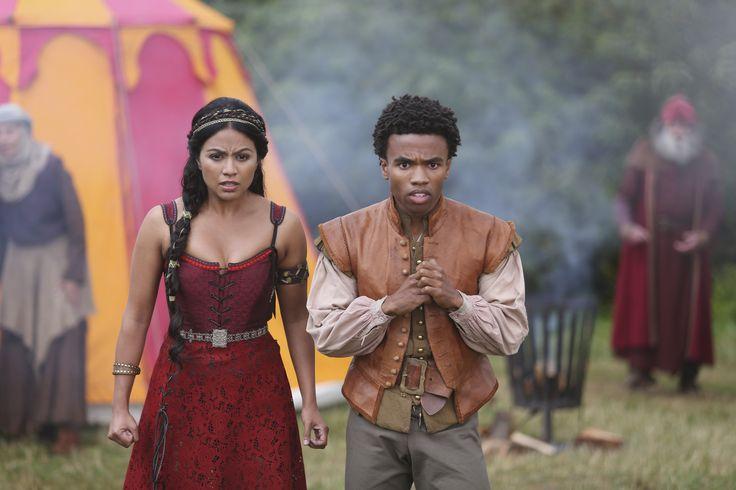 Princess Isabella (Karen David) and Sid (Luke Youngblood) of Galavant