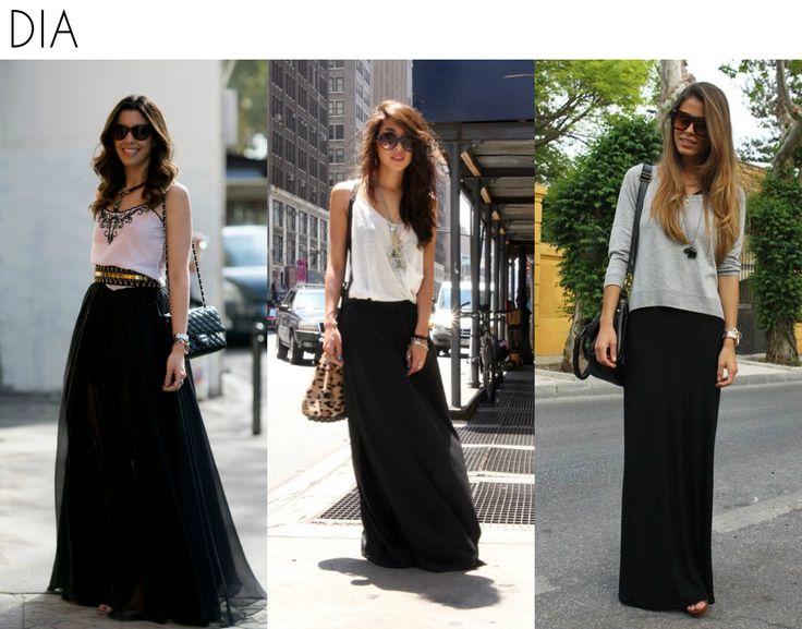 Como usar (e arrasar com) uma saia preta - Moda it