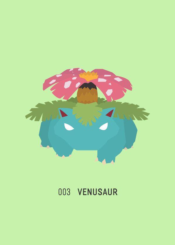 "Pokémon Starters & Evolutions 003 Venusaur #Displate artwork by artist ""Ariadna S. C."". Part of a 9-piece set featuring designs based on the three Pokémon starters and their evolutions. £39 / $52 per poster (Regular size), £71 / $104 per poster (Large size) #Pokemon #Pokémon #PocketMonsters #GottaCatchEmAll #Bulbasaur #Ivysaur #Venusaur #Charmander #Charmeleon #Charizard #Squirtle #Wartortle #Blastoise #Nintendo"