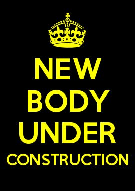 NEW BODY UNDER CONSTRUCTION