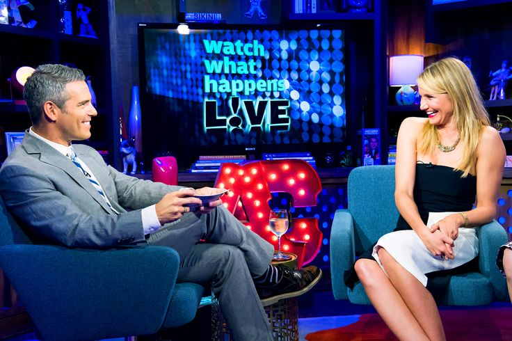 "Cameron Diaz Confirms She's ""Been With a Lady"" During Watch What Happens Live"