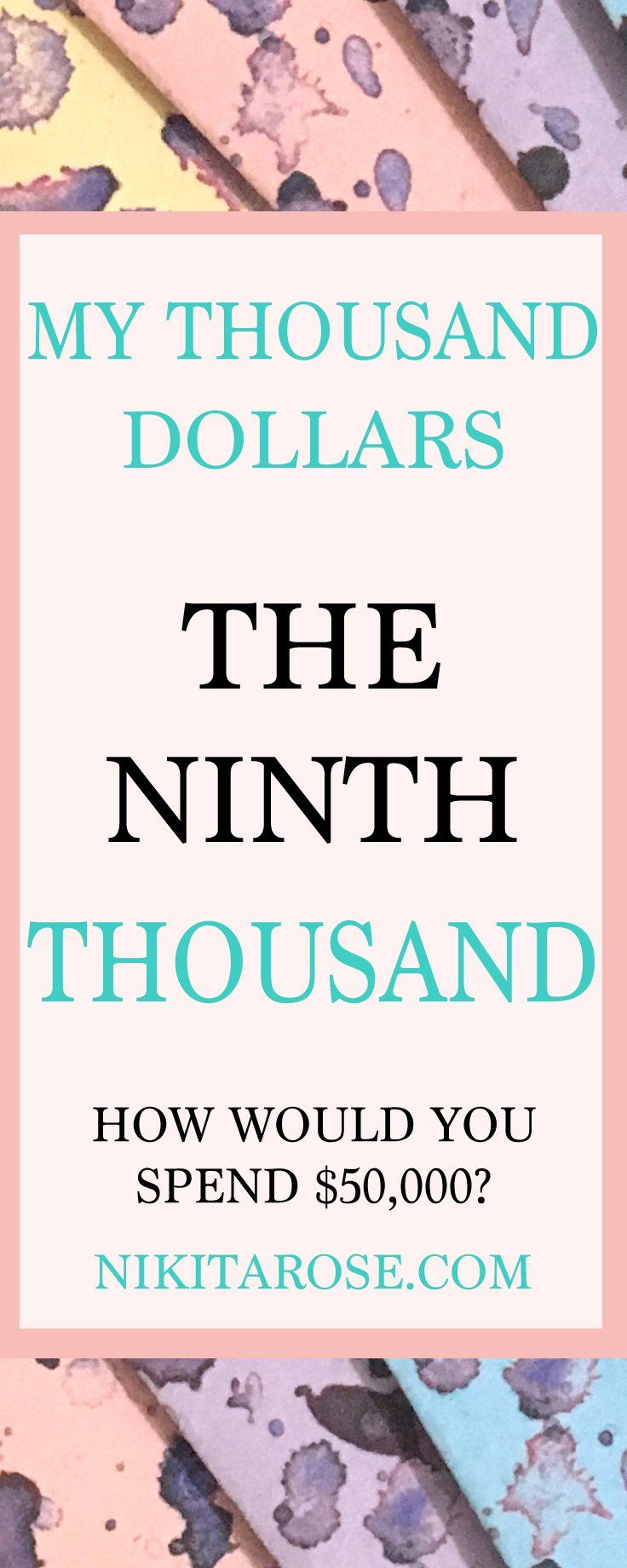 My Ninth Thousand Dollars Savings Challenge   Money Boss   Money Planner   $9000   How to Save $1000   Nikita Rose