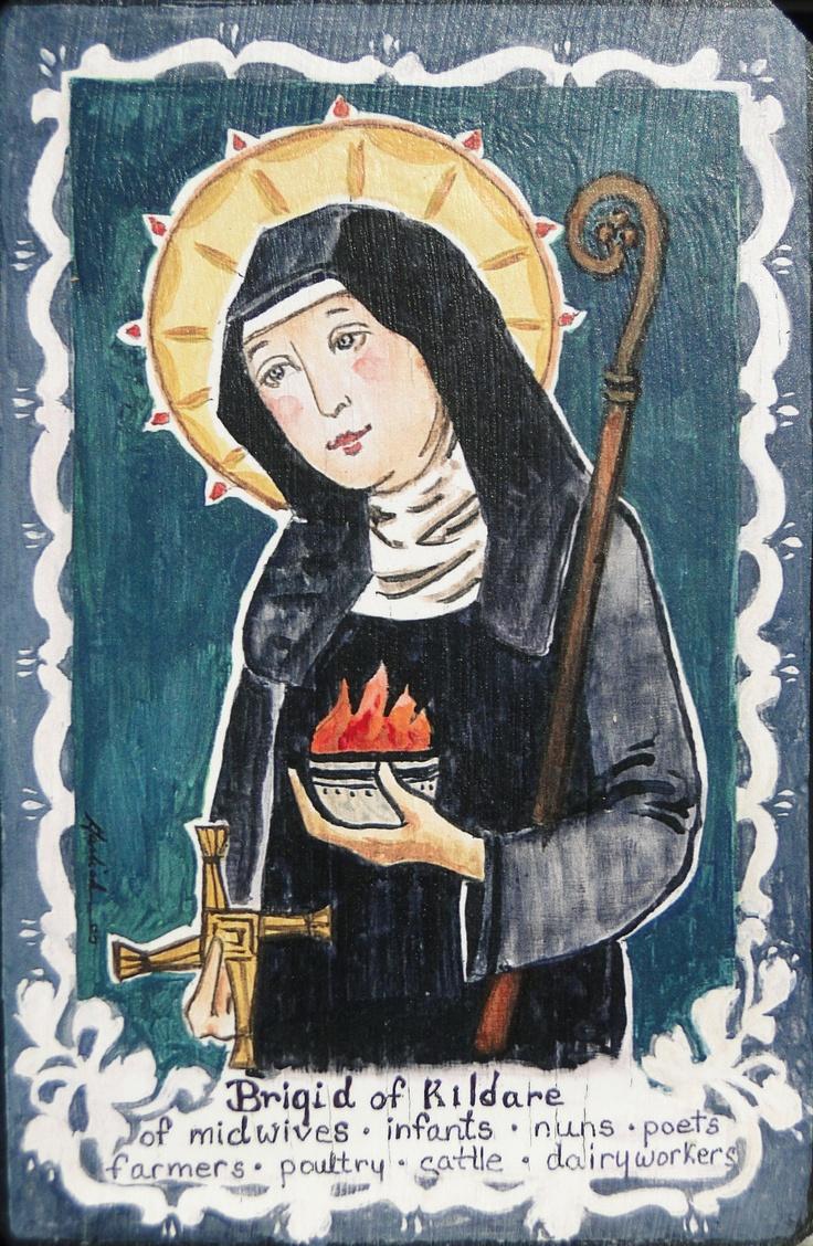Patron Saint of midwifery @Hannah Tessendorf