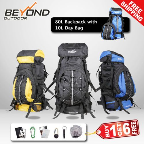80L-Backpack-with-day-bag-Camping-Hiking-Travel-Backpack-RUCKSACK