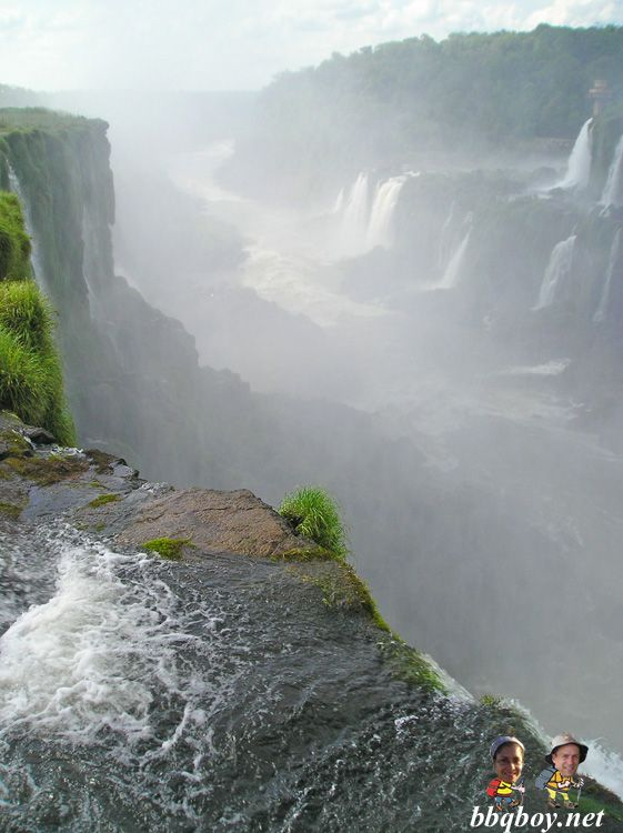 Argentina waterfalls (Argentina side)