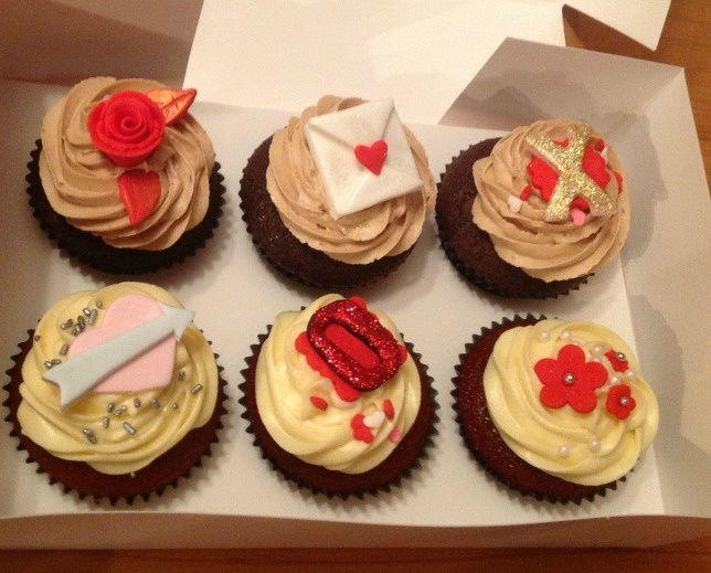 cupcakes for valentine's day uk