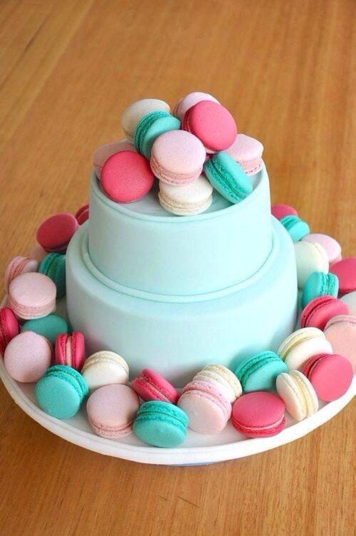 How To Make Macaron Wedding Cake