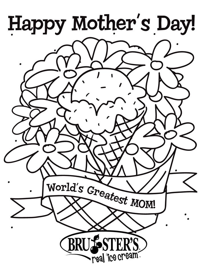 Printable Mothers Day Flowers Coloring Pages And Book To Print For Free Find More Online Kids Adults Of