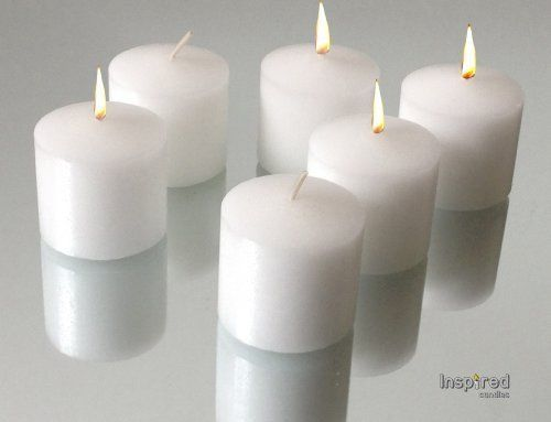 10 hour votive candles bulk set of 72 inspired white unscented smokeless votives natural soy