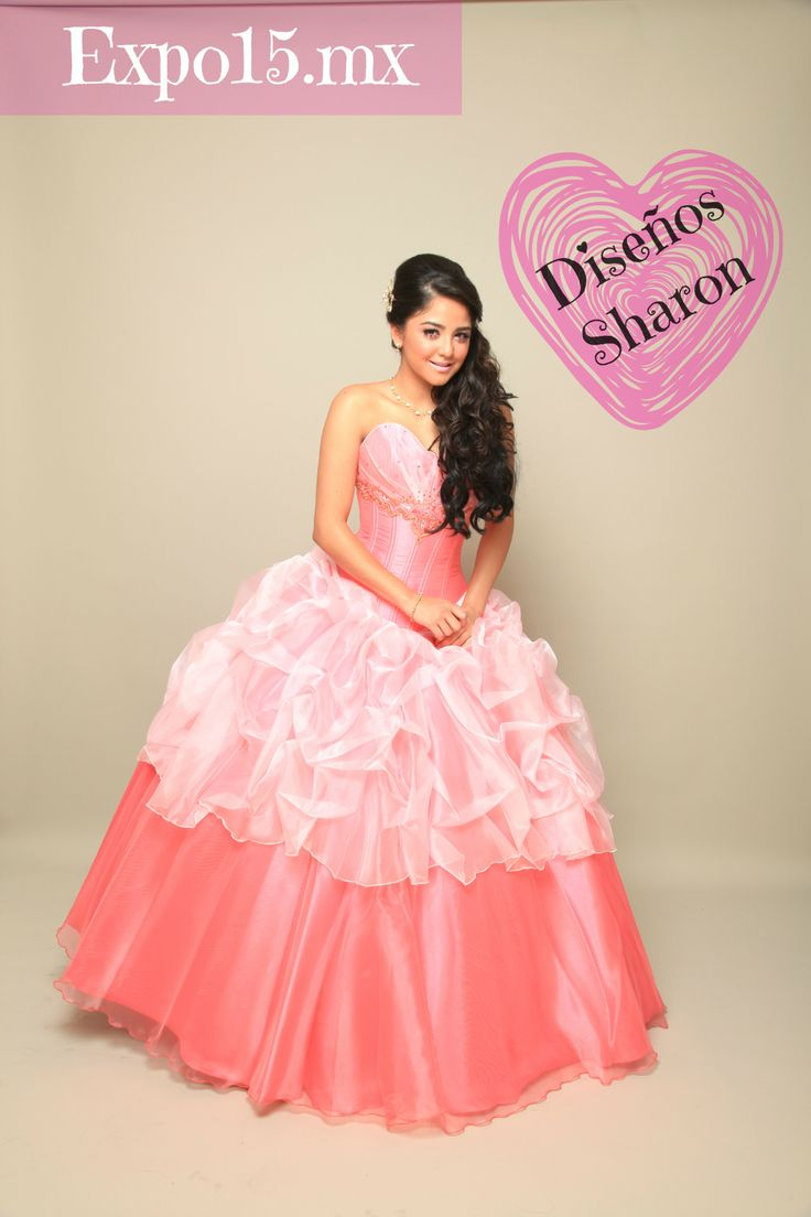 105 best vestidos XV images on Pinterest | Vestidos de quinceañera ...