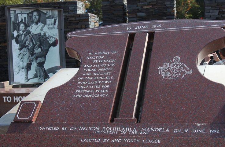 Hector Pieterson Memorial Site dedicated to the first victim in Soweto uprising in 1976, unveiled by Nelson Rolihlahla Mandela 16.6.1992. Soweto, Johannesburg, South Africa. © Miikka Järvinen 2013