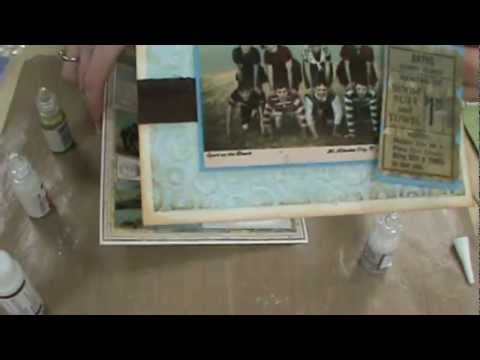 Penny Black Stickers, Stickles Glitter Glue & Flower Soft by Scrapbooking Made Simple - YouTube