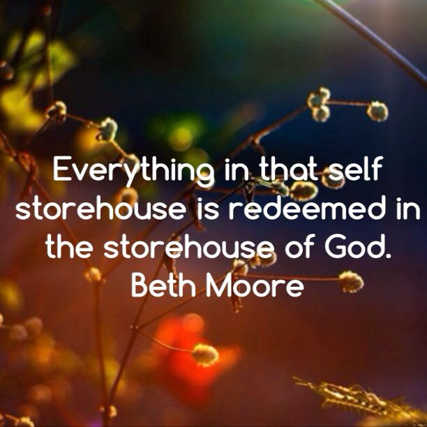Beth Moore quote, Breaking Free