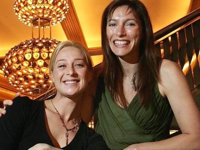 Activists ... Asher Keddie and Claudia Karvan are part of a new push to save the lives on Bali Nine duo Andrew Chan and Myuran Sukumaran. Picture: Supplied Source: News Corp Australia