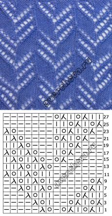 752 ramas patrón |  patrón de tejer con agujas directorio