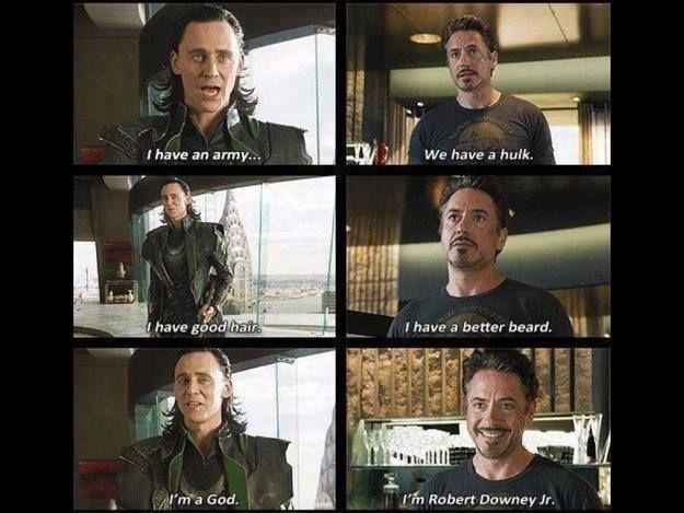 I'm Robert Downey Jr.