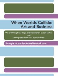 How to navigate the written end of the art business & how to make art profitable at tent shows