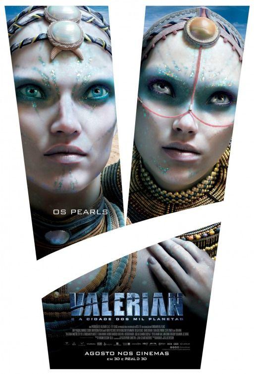 Póster de los personajes de 'Valerian y la Ciudad de los Mil Planetas' - abandomoviez.net