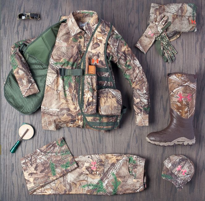 Realtree Camo #UA Women's Gear for turkey season!  #Realtreecamo