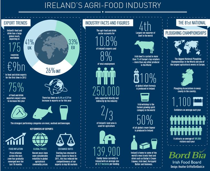 Agri-Food Industry Infographic. Find out more here: http://www.bordbia.ie/industryinfo/agri/pages/default.aspx