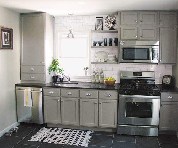 Small Kitchen Design Ideas Budget: 25+ Best Ideas About One Wall Kitchen On Pinterest