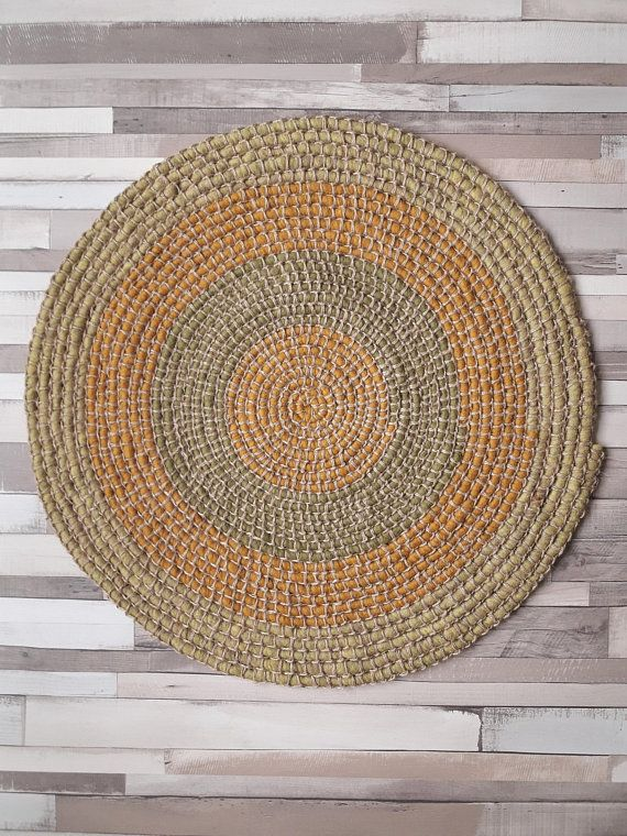 Hey, I found this really awesome Etsy listing at https://www.etsy.com/listing/587753518/crochet-round-rug-wool-and-jute-nursery