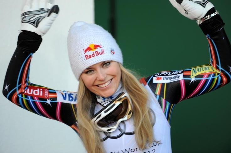 Lindsey Vonn, skier extraordinaire