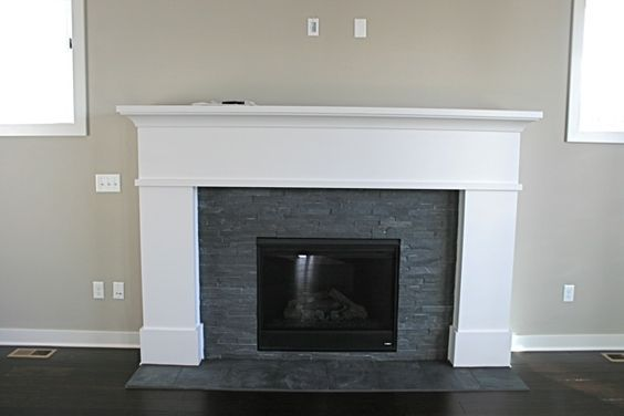 slate fireplace surrounds with white mantle google search fireplace pinterest granite fireplace tiled fireplace and fireplace surrounds