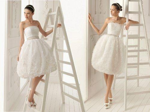 Krátké svatební šaty? Ano!