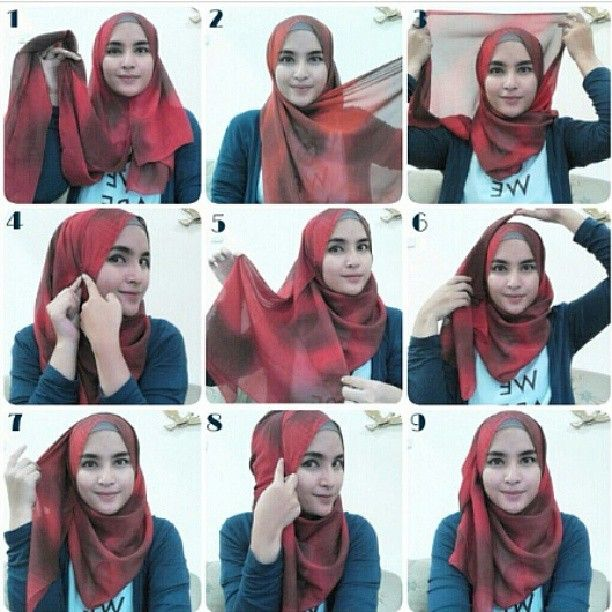 hijab tutorial perfect