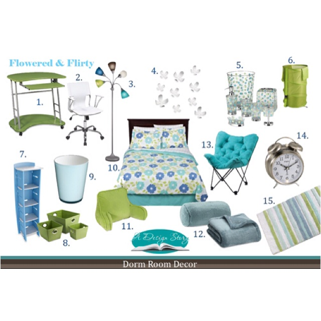 Decorating Ideas > 1000+ Images About Turquoise Bedroom Ideas On Pinterest  ~ 003811_Green Dorm Room Ideas