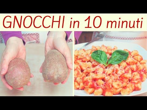 GNOCCHI di PATATE FACILISSIMI - Quick and Easy Gnocchi Recipe - YouTube