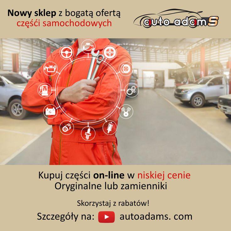 Części samochodowe www.autoadams.com  sklep internetowy #autoadams #auto #adam #s #samochody #motoryzacja #mechanik #polska #lubin