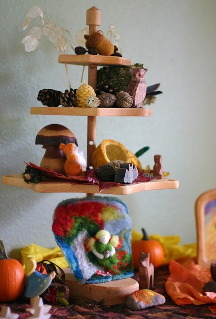 vertical nature table display