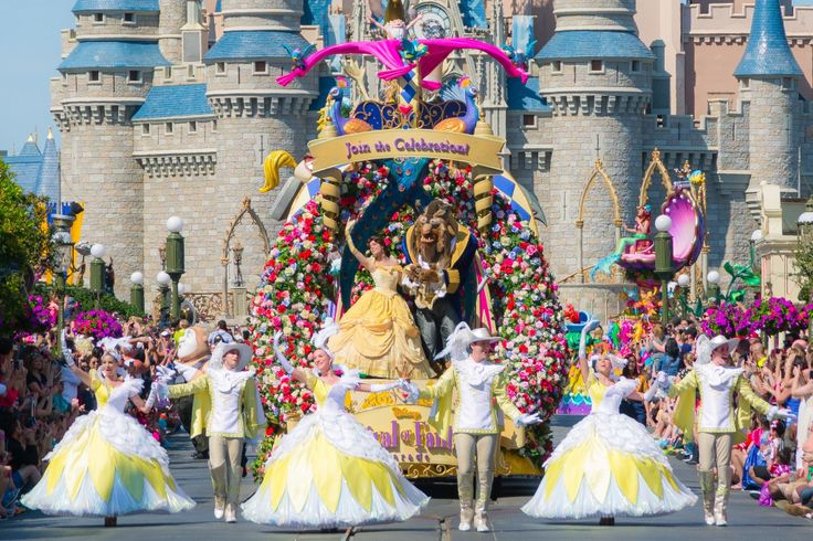 17 best images about beauty and the beast float on for Princess float ideas