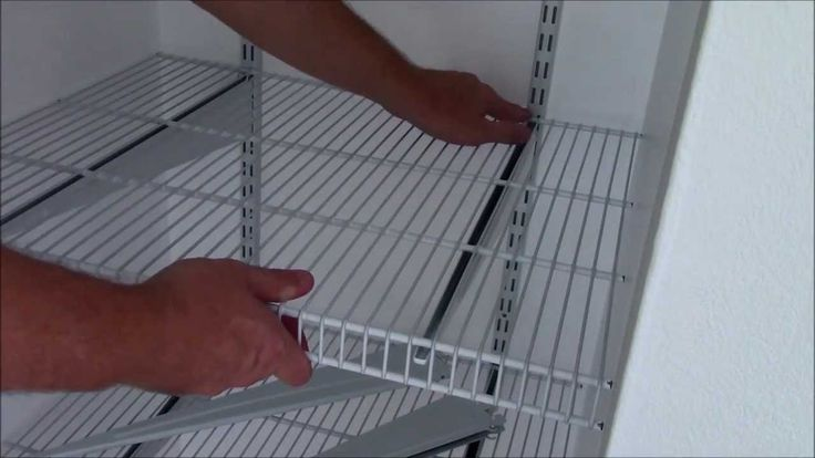 Install Closetmaid Shelftrack In Depth Diy Home