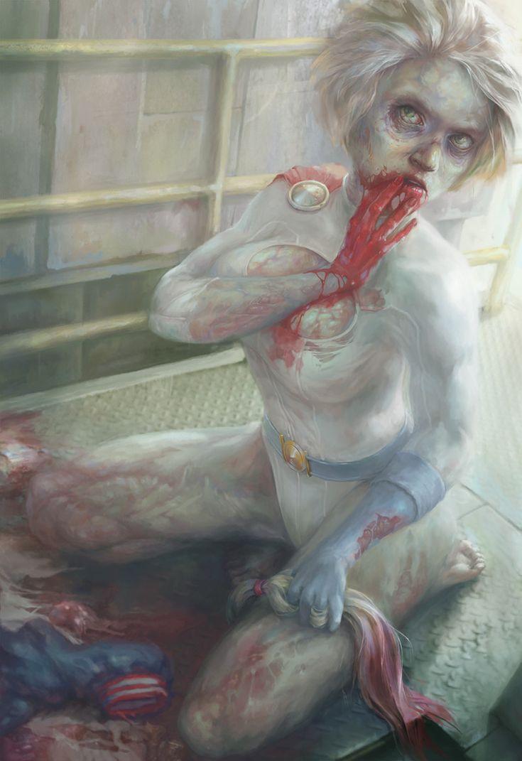 ArtStation - Power Girl, Xenia Berezovsky