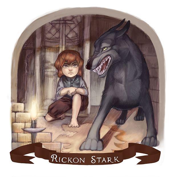 Rickon Stark by Ksenia Kozhevnikova [©2013]