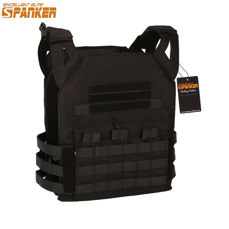 EXCELLENT ELITE SPANKER Outdoor Tactical Molle Vest Cloth Military Nylon JPC Jacket Series Equipment CS Vest Large Version #Affiliate