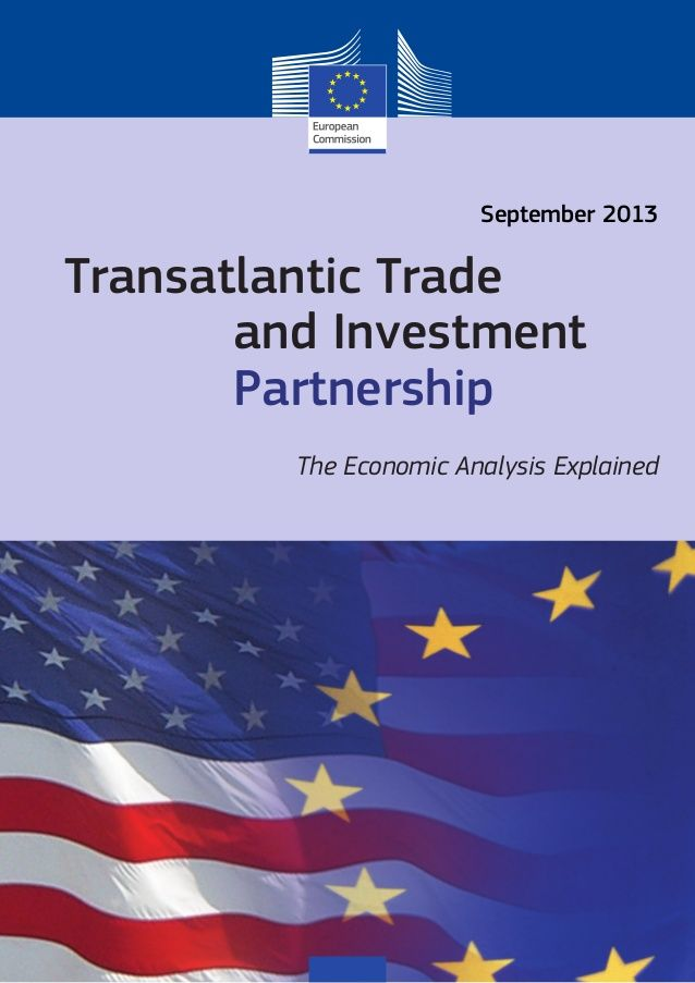 TRANSATLANTIC TRADE AND INVESTMENT PARTNERSHIP - THE ECONOMIC ANALYSIS EXPLAINED by Cláudio Carneiro via slideshare