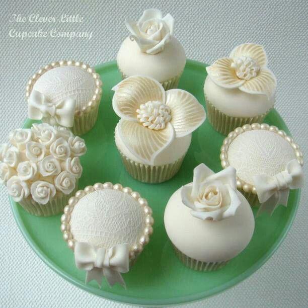 cupcake da matrimonio o battesimo