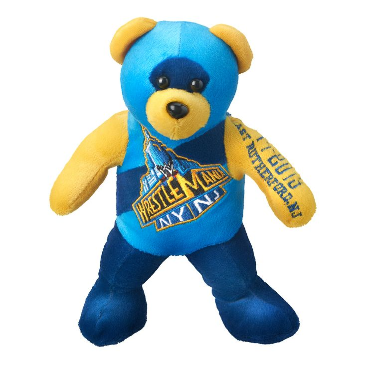 WrestleMania 29 Beanie Bear - #WWE