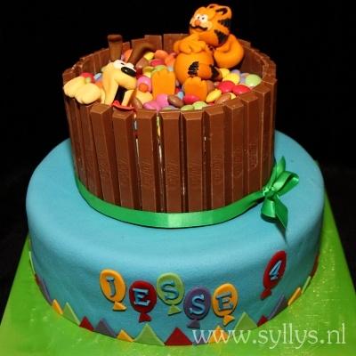 Garfield taart