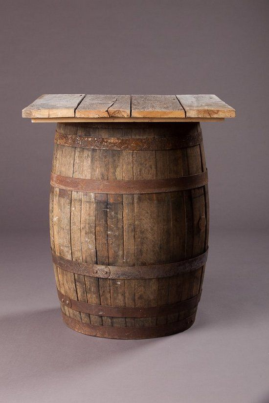 7 Best Wine Box Whiskey Barrel Table Images On Pinterest