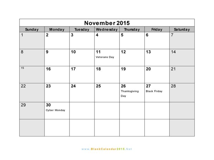 Blank Calendar November Pdf : Best images about november calendar on pinterest