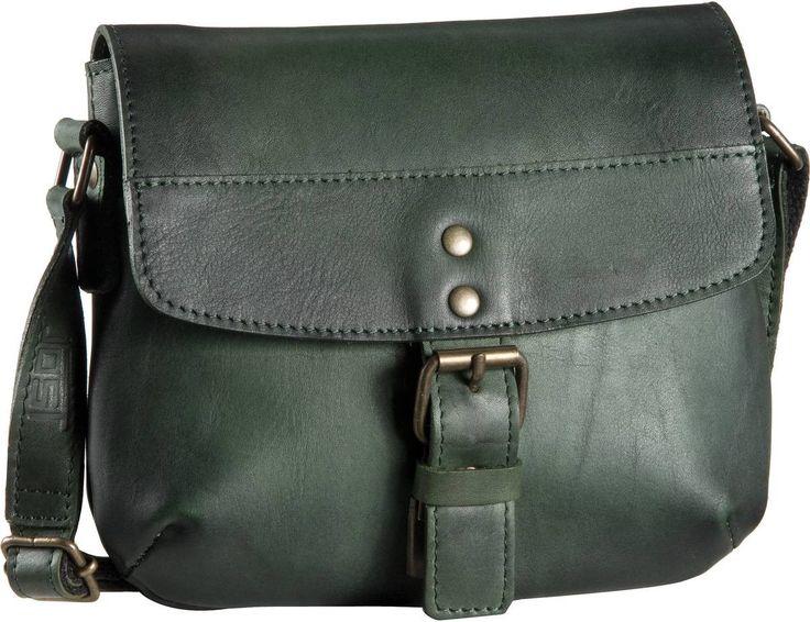 Jost Ranger 2448 Handtasche Grün - Abendtasche   Clutch