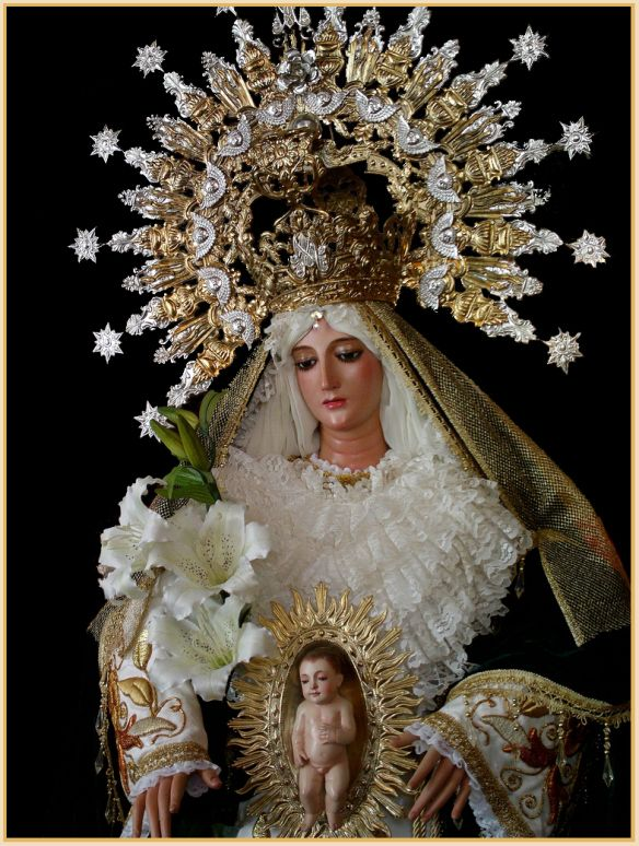 the Story mary virgin of blessed
