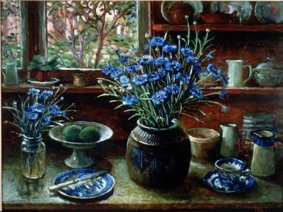 Margaret Olley, Afternoon with cornflowers