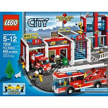 "LEGO City Fire Station (7208) - LEGO - Toys ""R"" Us"